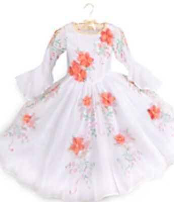 NWT Disney Store Beauty and the Beast Belle Live Action Celebration Dress