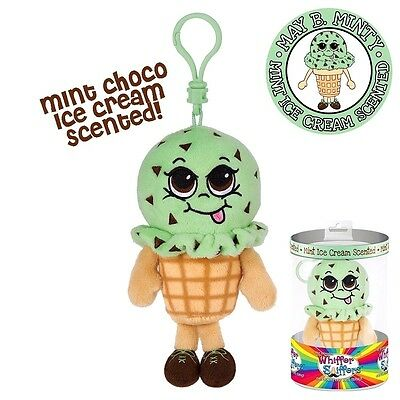 New-Whiffer Sniffers-May B. Minty--Mint Chocolate Scented -Backpack Clip-Rare
