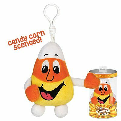 New-Whiffer Sniffers-Ken D. Corn-Candy Corn Scented-Backpack Clip-Rare Halloween