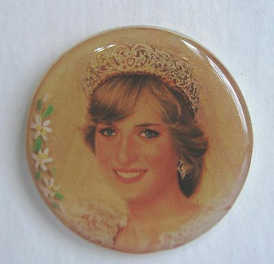 Large Studio Button by Shirley Burgess  Princess Diana