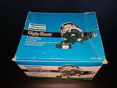 Shakespeare ugly boat fishing reel deep sea wrecking boxed