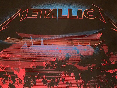 Metallica 2017 Tour Poster - Philadelphia - VIP Members Only! RARE and Limited!