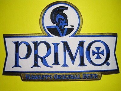 Beer Patch Primo Hawaii's Original Beer Large Back Size Look And Buy*