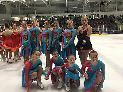 Synchronised Ice Skating / Dance dresses - Blue X 20