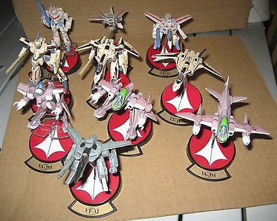 Macross 1/200 Valkyrie YAMATO VARIABLE FIGHTERS COLLECTION! 10pcs! FREE SHIPPING