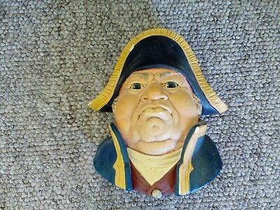 "Bossons 1969 "" Mr Bumble"" Chalkware Wall Hanging Head."