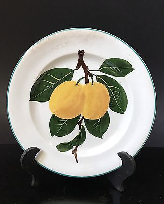 Wemyss Pottery Small Hand Painted Fruit Plate