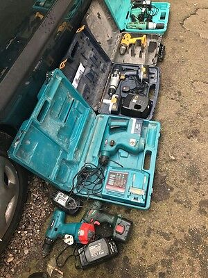 power tools job lot Makita and others