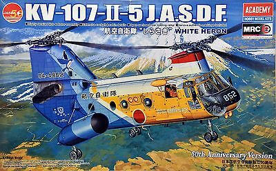 "1/48 Academy KV-107-II-5 J.A.S.D.F. ""White Heron"" 50th. Anniversary Version"