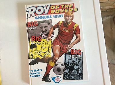 roy of the rovers annual1988
