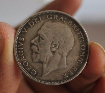 1935 - Silver Coin - Half Crown - Great Britain - King George V - English UK
