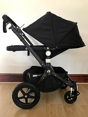 Brand New Bugaboo Cameleon 3 Tailored Fabric Set (extendable canopy) - Black