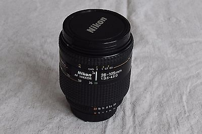 Nikon 28-105mm 1:3.5-4.5D  Zoom Lens with Hood