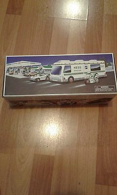 1998 Hess RV with Dune Buggy and Motorcycle
