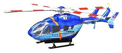 F-Toys Heliborne 8 1:144 scale BK117-C2 Chiba-ken police helicopter BLUE 3 B