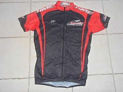 maillots velo cycliste vintage Time Megeve Mont Blanc Noret jersey cycling