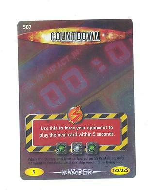 Rare.doctor Who Battles In Time Invader Trading Card - 507 Countdown.lot.2