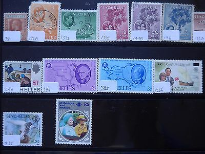 Seychelles - Various Stamps