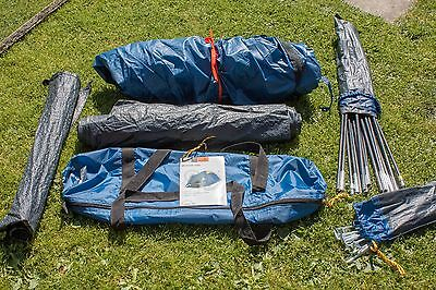 Quasar 200 2-Man Dome Tent ideal for Festival & Hiking