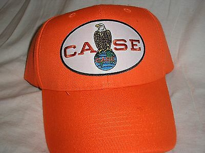 Case Tractor Hat Orange