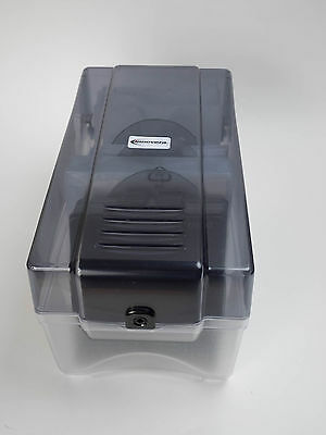 Innovera IVR39502 CD Storage Box w/ Sleeves and Dividers 150 Disc Capacity