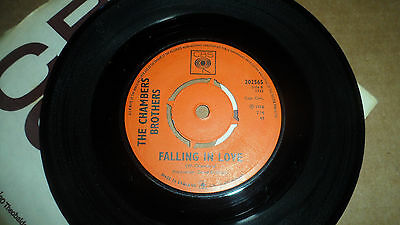 The Chambers Brothers 'all Strung Out Over You' 202565 Cbs Records 1966 Uk Issue