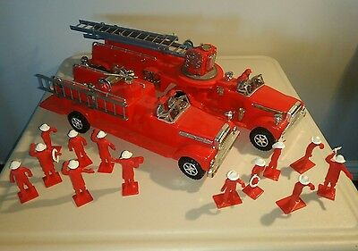 Vintage Marx The Chief Fireman Hook and Ladder Playset