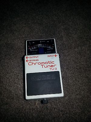 Boss TU-2 Chromatic Tuner Guitar Studio Effects Pedal