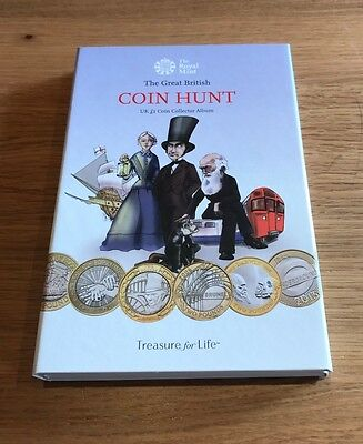 The Great British Two Pound Coin Hunt £2 Album - SOLD OUT AT THE MINT - CHEAP!