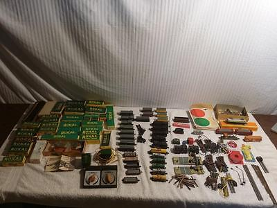 Huge Lot Of Tt Scale Trains 7 Engines 29 Rolling Stock Track Rokal Building Boxs