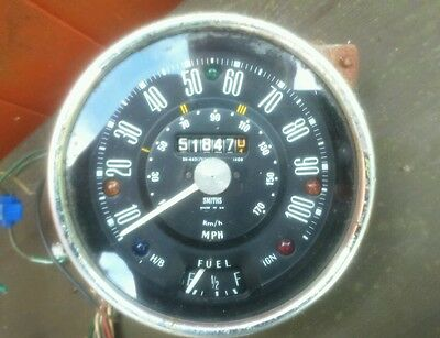 Classic mini smiths speedo, 100mph, collection only!!