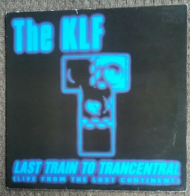"""THE KLF: Last Train To Trancentral (Live From The Lost Continent)12"""" '91 KLF008X"""