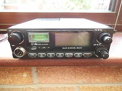 midland 48 excel multi 80 channel cb radio