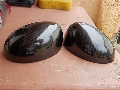 mini cooper s jcw  r53/52/50 carbon wrapped  wing mirrors
