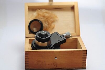 LOMO Oi-14 Microscope Condenser direct/oblique light A-1,4 A-0,3 D=37mm Zeiss