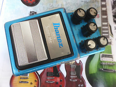 Ibanez SM-9 Super Metal Effects Pedal Vintage Japan 1984