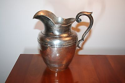 Gorham Sterling Water Pitcher 5 Pint A11710 576 grams
