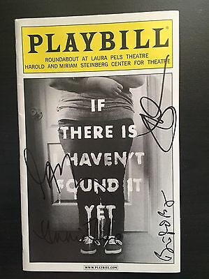 If There Is I Haven't Found It Yet Jake Gyllenhaal Signed Autograph Playbill