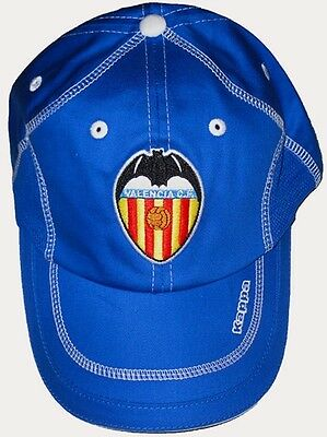 Valencia Football Club Kappa Blue Supporters Cap 2010-11 Brand New With Tags