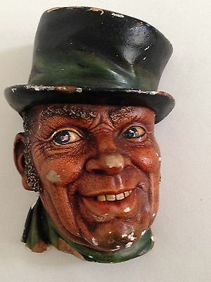 "Vintage Bossons Wall Plaque Figure Heads ""Paddy"" 1962"