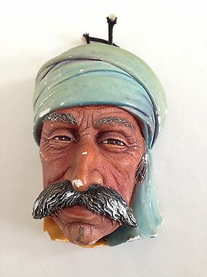 "Vintage Bossons Wall Plaque Figure Heads ""Albanian"" 1965?"