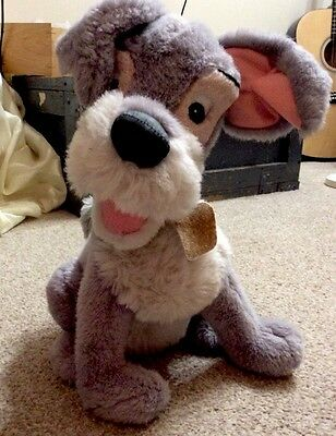 """disney movie character """" Lady& The Tramp"""" 14"""" tall Tramp"""