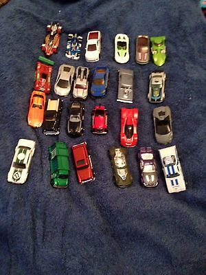Hot Wheels And Matchbox Diecast Cars Job Lot 24 In The Bundle