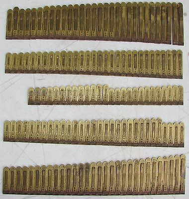 146 Brass Reeds from Doherty Pump Organ Antique Used Parts Crafts Repurpose