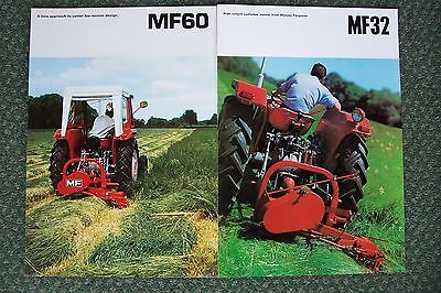 Massey Ferguson 60 & 32 Mower Sales Brochure