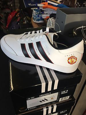 Adidas Man Utd Golf Shoes. Brand New In Box. Size 10.5