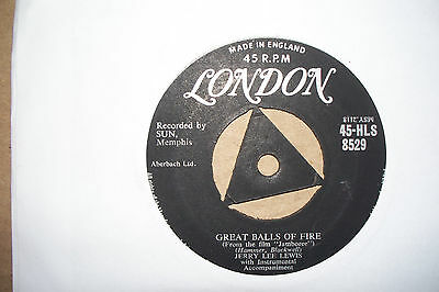 Jerry Lee Lewis,  Great Balls Of Fire,  London  Records 1957