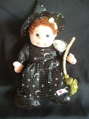 Ty Beanie Kids - Curly In Witch Outfit With Tag
