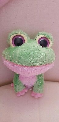 Ty Beanie Boo Baby -  Kiwi the Frog - *Rare* *Retired in 2009*
