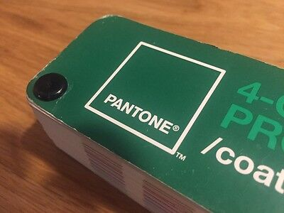 Pantone 4 Color Process Guide COATED Fan Deck [Free Shipping]